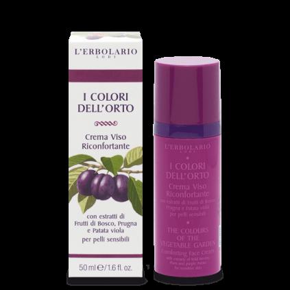 Colores del Huerto Violeta Crema Cara Reconfortante, 50 ml