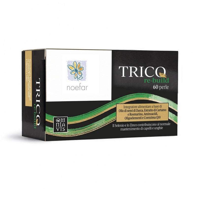 TRICO RE-BUILD (ALOPECIA), 60 perlas