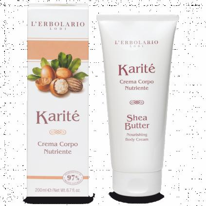 Karité Crema Cuerpo Nutritiva, 200ml