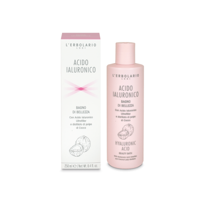 Ácido Hialurónico Gel de Baño de Belleza, 250 ml