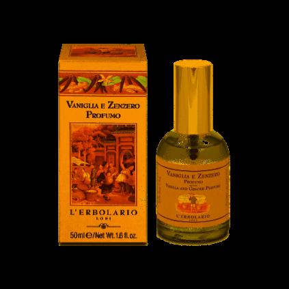 VAINILLA Y JENGIBRE AGUA DE PERFUME, 50 ml