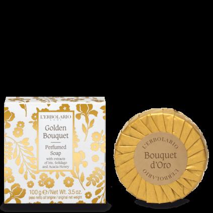 Bouquet de Oro Jabón Perfumado, 100g