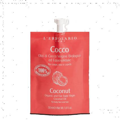 Coco Aceite Virgen Biológico y de Mercado Justo, 50 ml