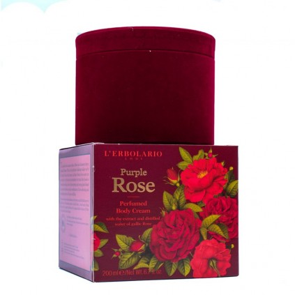 Rosa Purpúrea, Crema Perfumada Cuerpo, 200 ml