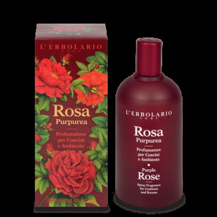 Rosa Purpúrea Perfumador para ambientes y cojines, 200 ml