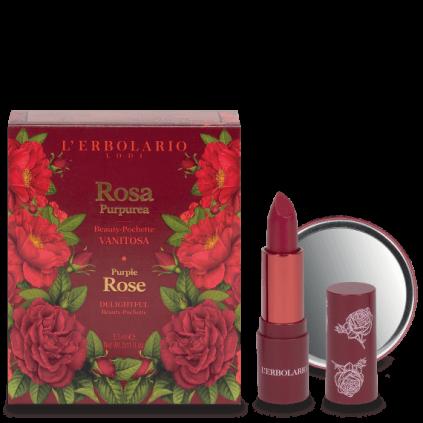 Rosa Purpúrea Beauty Pochette Vanidosa: stick labial 3,5 ml y espejito