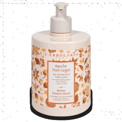 Bayas Flores Leños Gel Detergente Cara y Manos, 500 ml