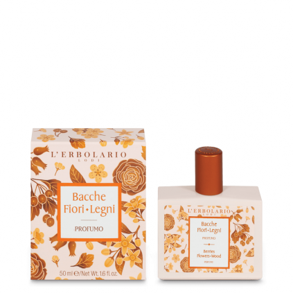 Bayas Flores Leños Perfume, 50 ml