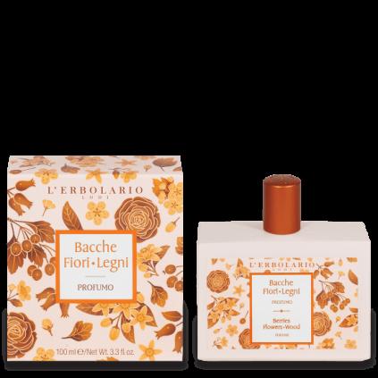 Bayas Flores Leños Perfume, 100 ml