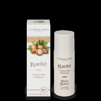 Karité Crema de Cara Nutritiva, 50 ml