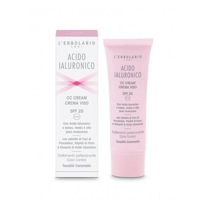 Ácido Hialurónico CC Cream Tono Caramelo, 50ml