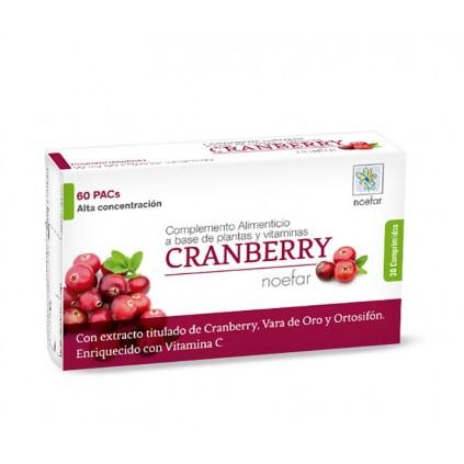 Cranberry Noefar Bienestar Urinario, 30 comprimidos